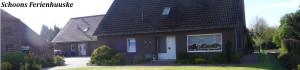 Blick auf unser Haus vom Bürgersteig aus